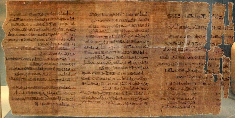 Папирус Эббота. Отчет о расследовании преступлений. Египет. Около 1200 года до н.э.