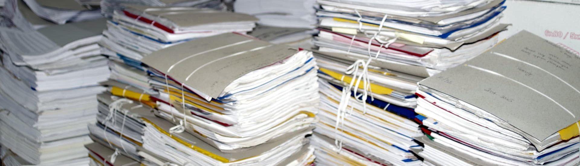 Что просходит с документами когда закрывается компания